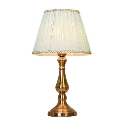 Lámparas de escritorio Americana lámpara de mesa de cristal, dormitorio Mesita de luz de la lámpara, conveniente for el dormitorio, sala de estar, Estudio (grande, mediano, pequeño) Sin reflejos
