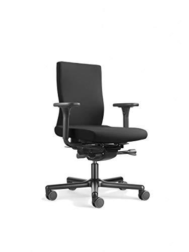 Löffler Lezgo 7150, Bürostuhl ergonomischer Drehstuhl 3D-Sitztechnologie ErgoTop