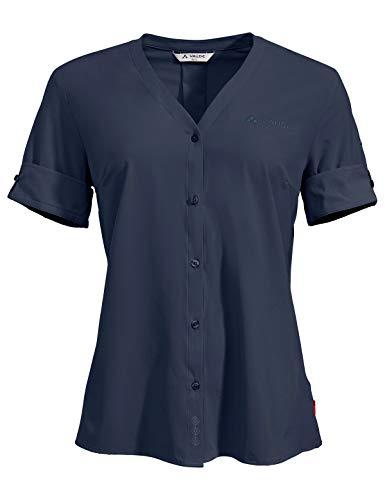 VAUDE Women's Skomer Shirt III Blouse Femme, Eclipse, FR Unique (Taille Fabricant : 44)