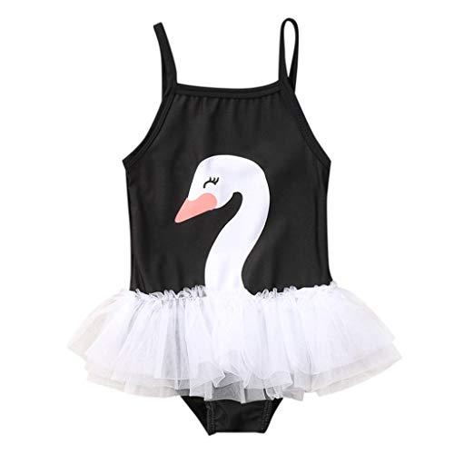 Neugeborene Badebekleidung Sommerkleidung Kinderbekleidung Säugling Bikini Outfits Kinder Bademode Baby Mädchen Riemen Badeanzug Schwimmbekleidung Beachwear-Kostüme