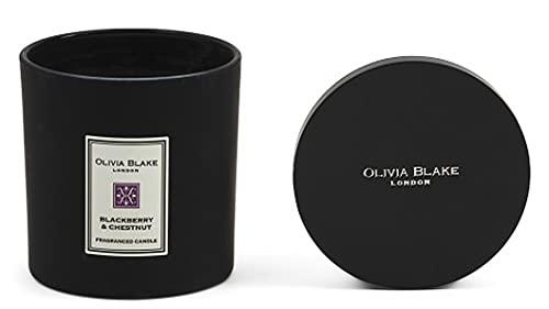 Olivia Blake London Candle Triple Wick 18.1 oz (BlackBerry & Chestnut)