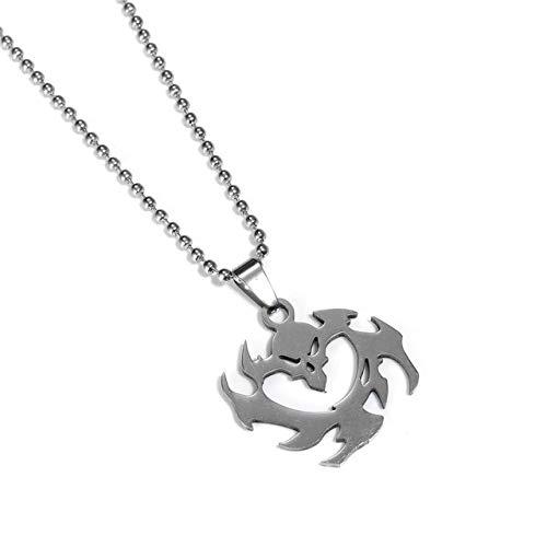 herrenhalskette Anhänger Halsketten Für Männer Tracer Reaper Über Uhr Lange Kette Halskette Männlichen Neckless Frauen 12
