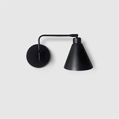 Lámpara de Pared Cable de Enchufe de la luz de la Pared de la Pared de la Pared del Brazo oscilante con el Interruptor de Off Off ON Cordo DE LA Pared Industrial Scone Final Lampara de Pared Exterior