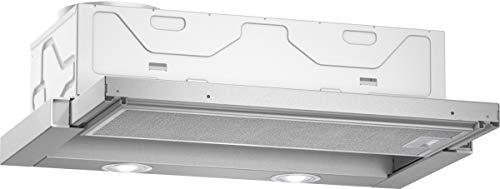 Neff D46BR12X5 Flachschirmhaube N30 / 60cm / Abluft oder Umluft / Energieeffizienz D / silbermetallic