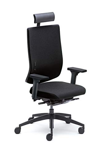Sedus se:do Bürostuhl, Drehstuhl, Designstuhl, Schreibtischstuhl, Gaming Schwarz, teilzerlegt