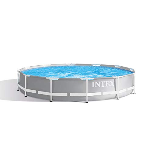 Intex Round Prism Frame Pool Set | 12ft x 30' | 26711EH model