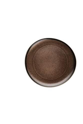 Rosenthal 21540-405252-60265 Junto - Bronze - Teller - Speiseteller - flach - Steinzeug - Ø 25 cm