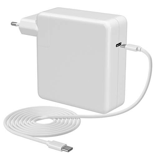 """Chargeur USB C, 87W USB C Chargeur MacBook Pro Chargeur d'alimentation compatibles AVCE MacBook Pro 16"""" 15"""" 13"""", MacBook 2016 2017 2018 2019 2020,MacBook Air, Huawei,Xiaomi,ect.(avec 2M Câble USB C)"""