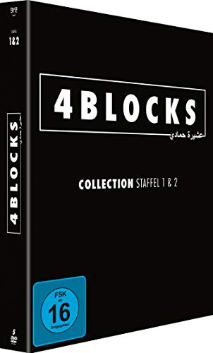 4 Blocks - Collection - Staffel 1+2 - [DVD] - (Original Uncut Edition)