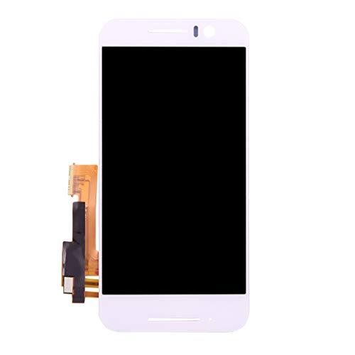 ELECTRONICS MobilePhone REPLACEMENT PART NICE LCD-scherm en Digitizer Volledige Vergadering for de HTC One S9 (zwart) (Color : White)