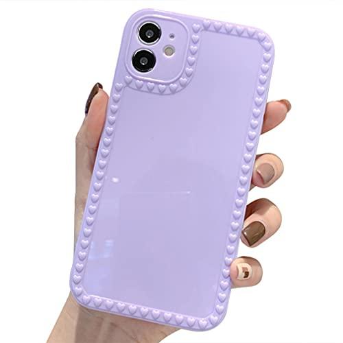 Rokmym Funda compatible con iPhone XR de silicona, superficie lisa, antiarañazos y antigolpes, para iPhone XR Slim reforzada, protección contra caídas, compatible con iPhone XR, color lila