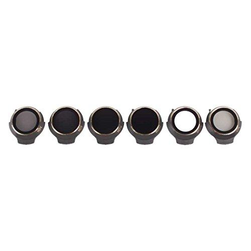 Mengonee Kamera-Objektiv-Filter für MCUV CPL ND4 ND8 ND16 ND32 Filter für DJI Mavic Pro / Platinum / Weiss
