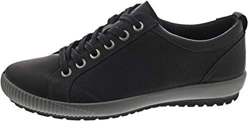 Legero Damen Tanaro Sneaker, Schwarz (Schwarz 01), 41 EU
