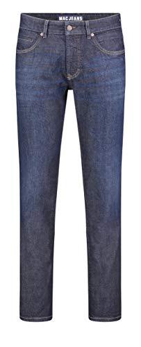 MAC Jeans Herren Arne Pipe Straight Jeans, Dark Rinsed 3D, 34W / 32L