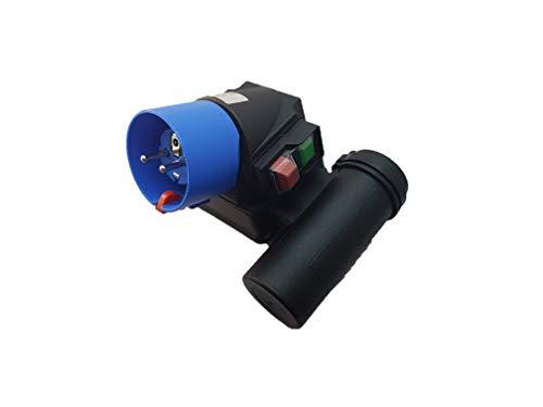 Aufbauschalter + Stecker Unterspannungsauslöser Maschinen Sicherheitsschalter mit Kondensatorrohr - Betonmischer/Baumaschine