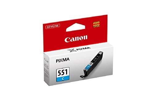 Canon Tintenpatrone CLI-551 C cyan - 7 ml für PIXMA Drucker ORIGINAL
