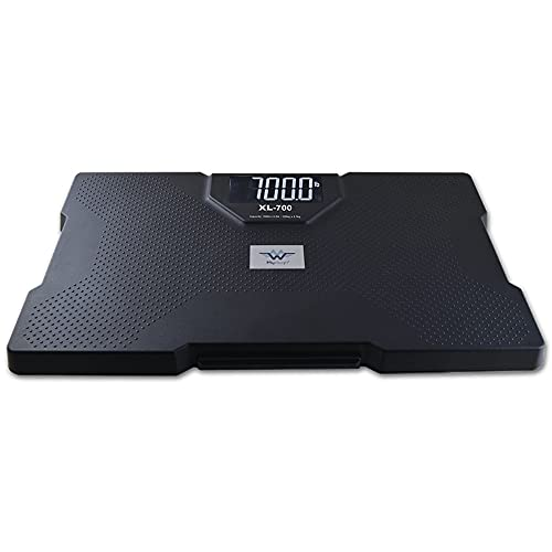 My Weigh XL-700 High Capacity Talking Bathroom Scale ~ Includes Measure Equivalents Sticker