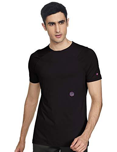 Under Armour UA Rush Short Sleeve Camiseta, Hombre, Negro (Black/Black 001), M