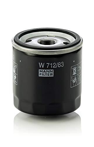 Original MANN-FILTER Ölfilter W 712/83 – Für PKW und Nutzfahrzeuge