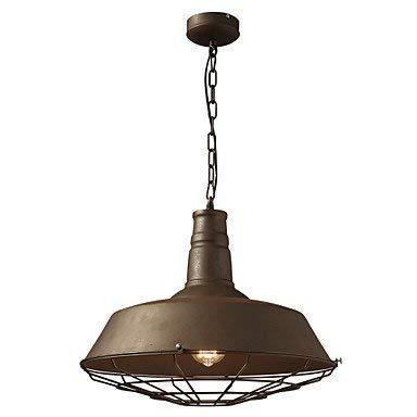 Moderne kroonluchter, plafondlamp, hanger, vintage, oud metaal, hanger, 1 lamp, schaduw, koffie winkel en eetkamer 3C ce Fcc Rohs voor woonkamer slaapkamer