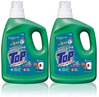Top Concentrated Liquid Detergent 2.8kg (Super Low Suds Anti-Bacterial) x 2