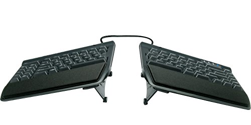 "KINESIS Freestyle2 Ergonomic Keyboard w/ VIP3 Lifters for PC (9"" Separation) (KB820PB-US)"