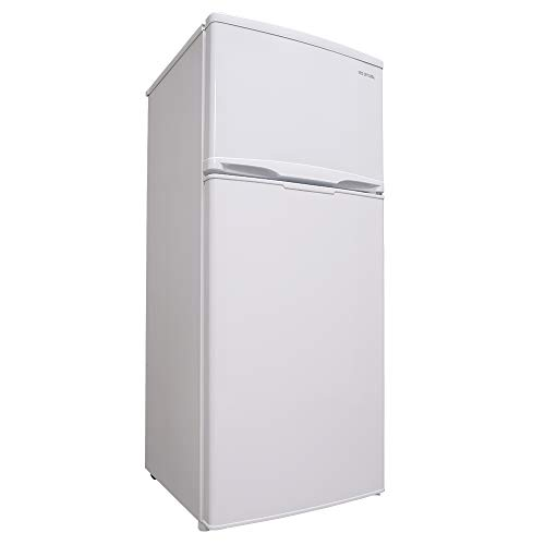 アイリスオーヤマ 冷蔵庫 118L 2ドア 右開き 温度調節7段階 静音 メーカー1年保証 ホワイト AF118-W