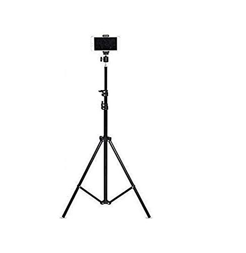 Teconica TX10 Tripod Stand for Camera, DSLR, Mobile Ring Light for Beauty Parlor Studio Makeup Stage Live Recording Online Classes TIKTOK YouTube Family