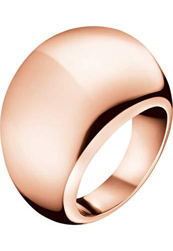 Calvin Klein Damen-Damenring Edelstahl 51 Rosé 32000145
