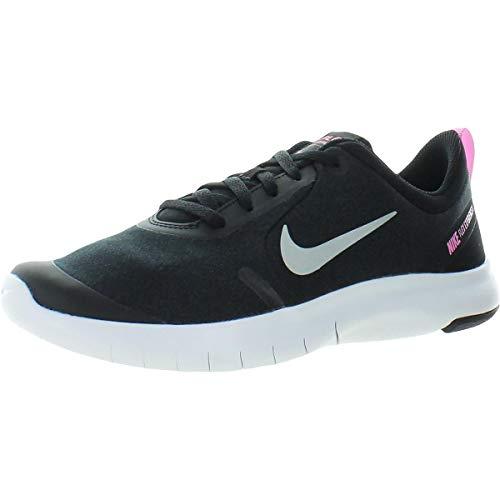 Nike Girl's Flex Experience RN 8 Running Shoe Black/Metallic Silver/Anthracite Size 6.5 M US