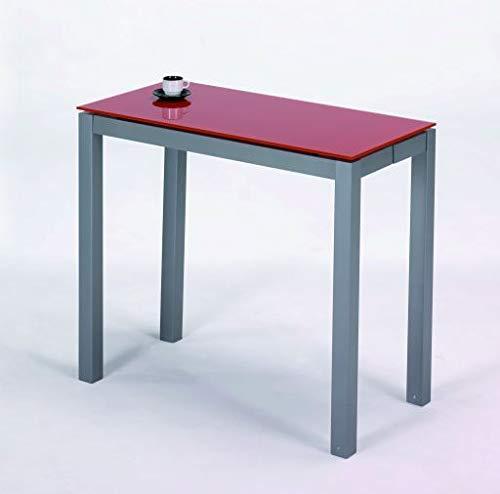 Kit Closet 7010270406 - Tavolo allungabile, Colore Nero e Grigio