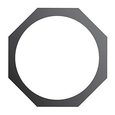 Eurolite Black PAR 64 Hexagonal Filter Gel Frame for Lighting Gel Sheet