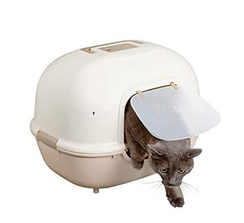 Iris Ohyama Cat Litter Box Wnt-510 Beige Pour Chat