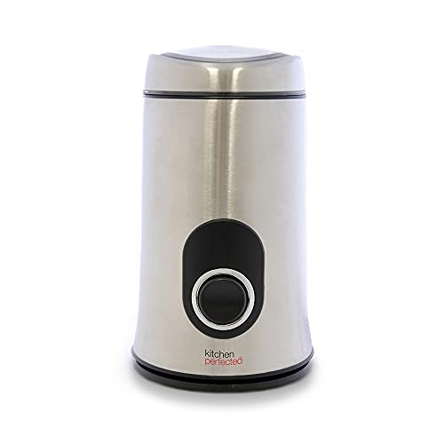 KitchenPerfected 150W 50g Spice & Coffee Grinder / One Touch Operation /...