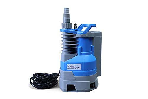 Submersible Clean/Dirty Water Sump Pump 1hp with built in automatic ON/OFF (with adjustable start height) 3600GPH, 26'Head, Thermal Protector, Copper Winding - Schraiberpump