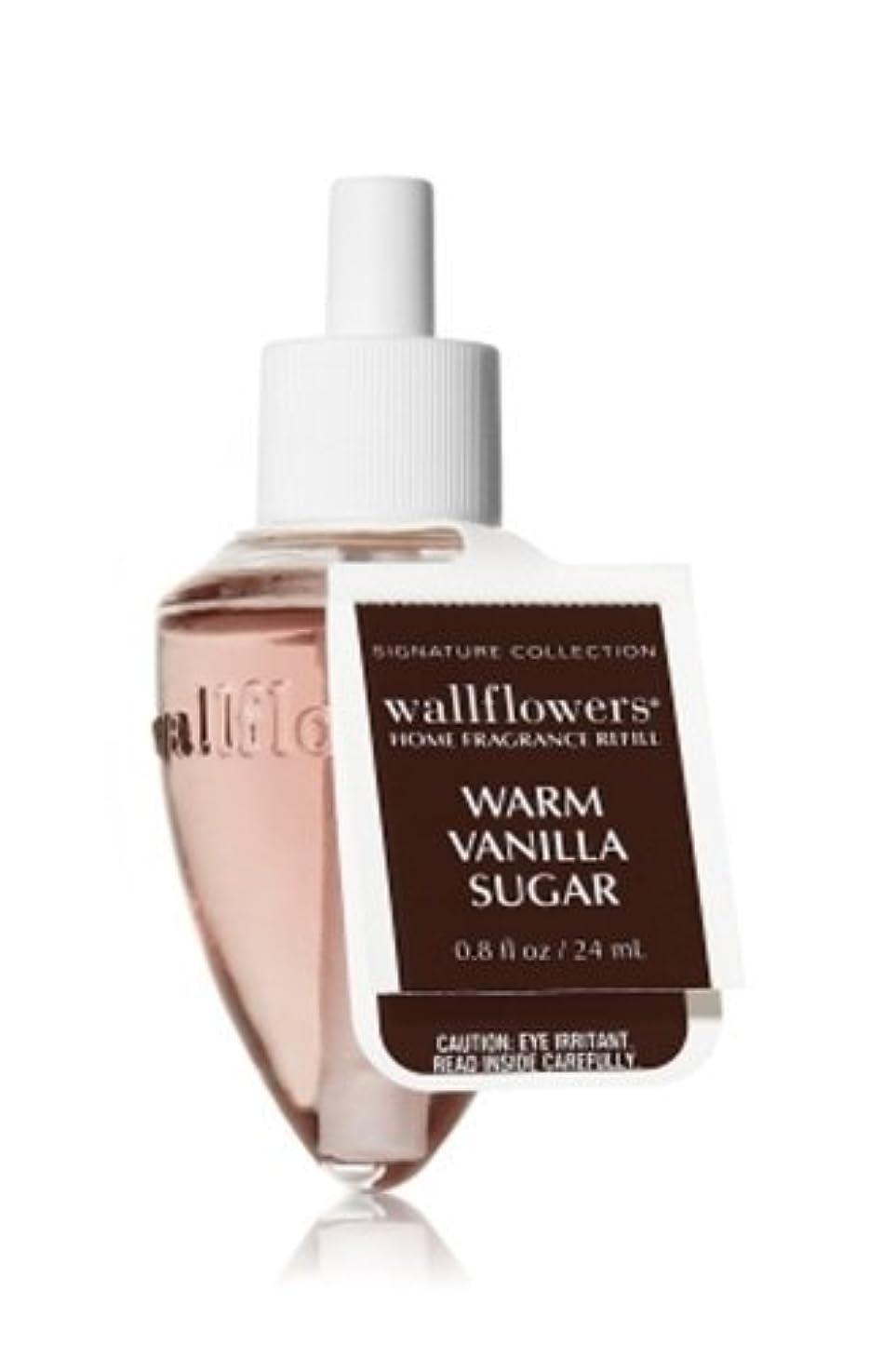 赤字曲線オーバーフローBath & Body Works(バス&ボディワークス)ウォームバニラシュガー ホームフレグランス レフィル(本体は別売りです)Warm Vanilla Sugar Wallflowers Refill Single Bottles [並行輸入品]