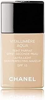 Vitalumiere Aqua Ultra Light Skin Perfecting Make Up SFP 15 - # 22 Beige Rose 30ml/1oz by Vitalumiere Aqua Ultra Light Skin Perfecting Make