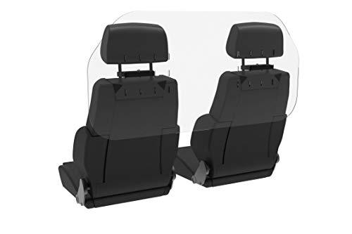 Shield Geek Premium Sneeze Guard for Cars - Acrylic Plexiglass Shield for Rideshare