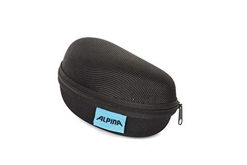 Alpina Unisex– Erwachsene CASE Brillenetui, schwarz, One Size