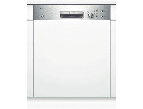Bosch SMI50D35EU lave-vaisselle semi-intégré 12 couverts A+ – Lave-vaisselle semi-intégré, acier inoxydable, boutons, rotatif, LED, 1,70 m, 1,40 m