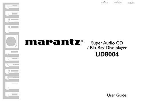Marantz UD8004 Blu-Ray Player Owners Instruction Manual Reprint [Plastic Comb]