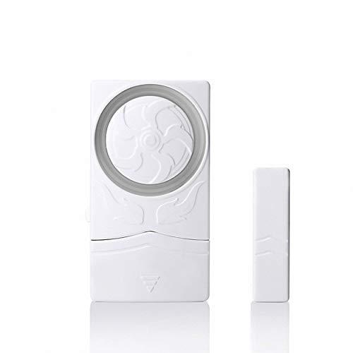 Great Deal! Mini Magnetic Magnet Sensor Window Alarm Door Burglar Alarm for Door and Window (5 Piece...