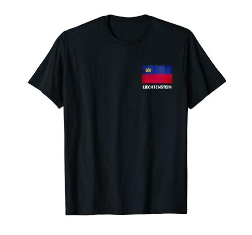 Liechtensteiner Liechtensteiner Fahne T-Shirt