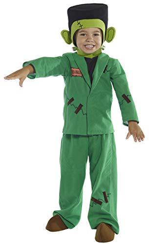 Smiffys Costume monstre, Vert, avec haut, veste, pantalon, tiare et couvre-chaussures