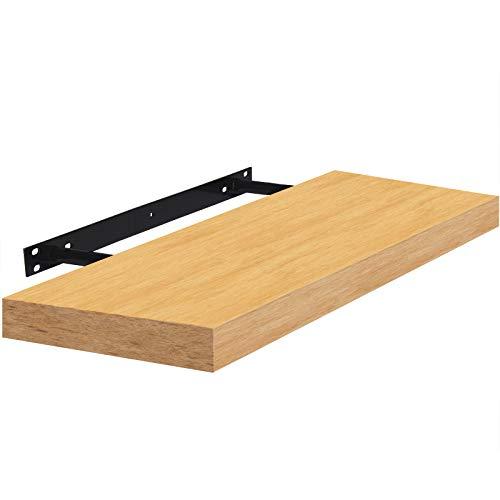 Wandboard Schweberegal Hängeregal Bücherregal Küchenregal freischwebend 80cm Buche