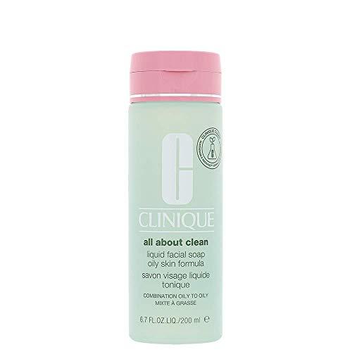 Clinique savon pour le visage peau grasse LIQUIDE avec pompe 200 ml