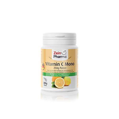 ZeinPharma Vitamina C Mono Polvo, 1er Pack (1 x 250 g)