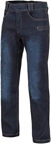 Helikon-Tex GREYMAN Tactical Jeans - Denim Mid Dark Blau M/Regular
