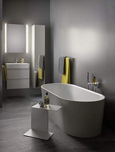 Laufen VAL Möbel-Waschtisch, 1 Hahnloch, mit Überlauf, 750x420, weiß, Farbe: Weiß mit LCC