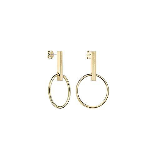 Calvin Klein - Pendientes colgantes - acero inoxidable acero inoxidable 7612635124490